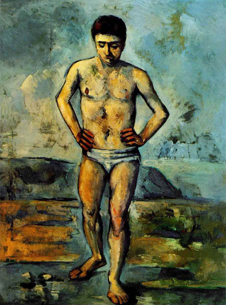 "Поль Сезанн (Paul Cezanne), ""Купальщик"""