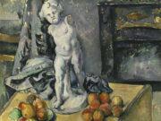 """Поль Сезанн (Paul Cezanne), """"Натюрморт с гипсовым амуром - 2"""""""