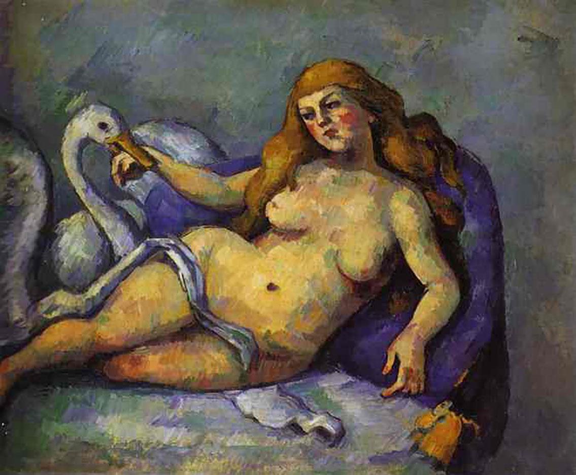 """Поль Сезанн (Paul Cezanne), """"Леда с Лебедем"""""""