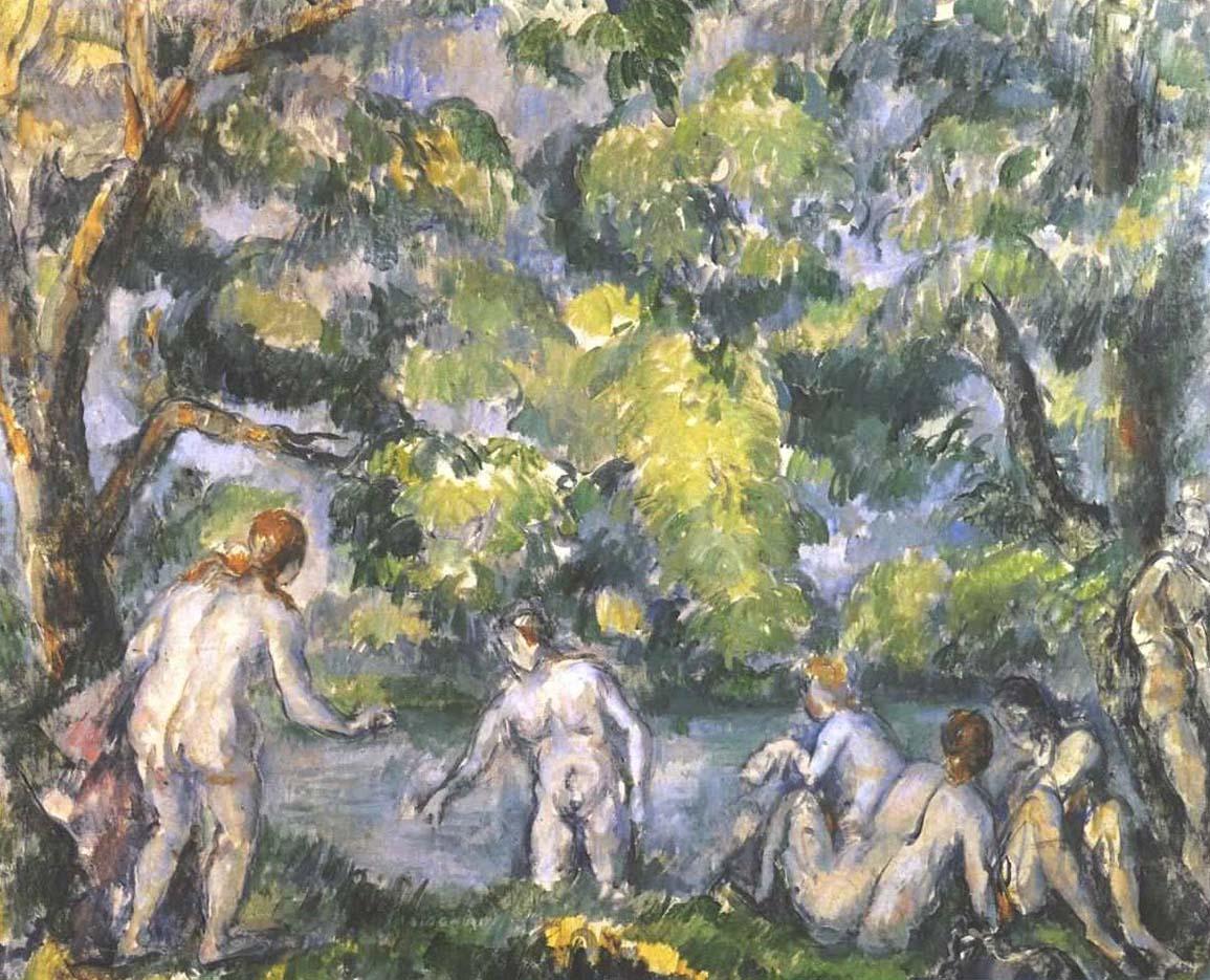 "Поль Сезанн (Paul Cezanne), ""Bathers"""