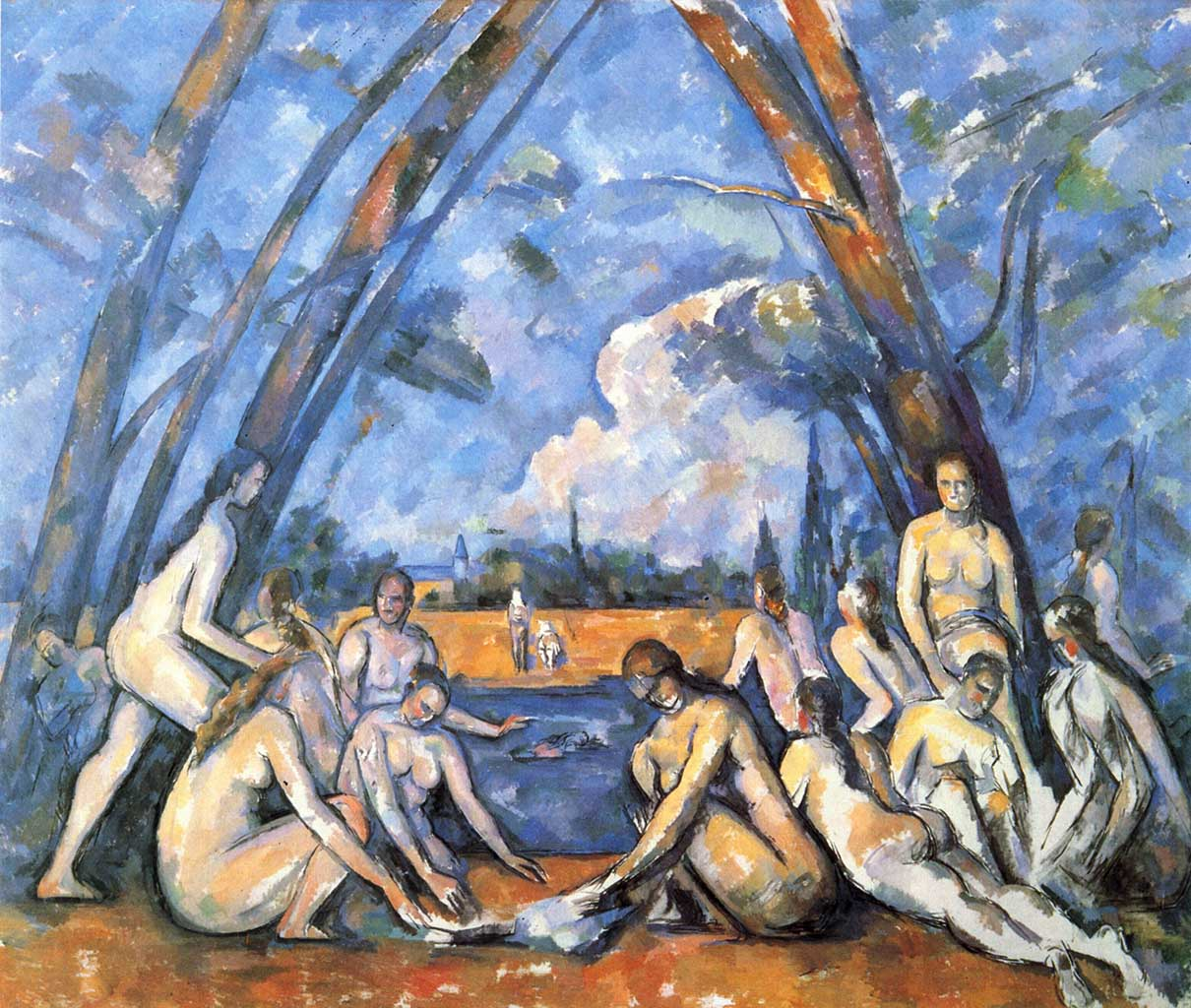 "Поль Сезанн (Paul Cezanne), ""The Large Bathers"""