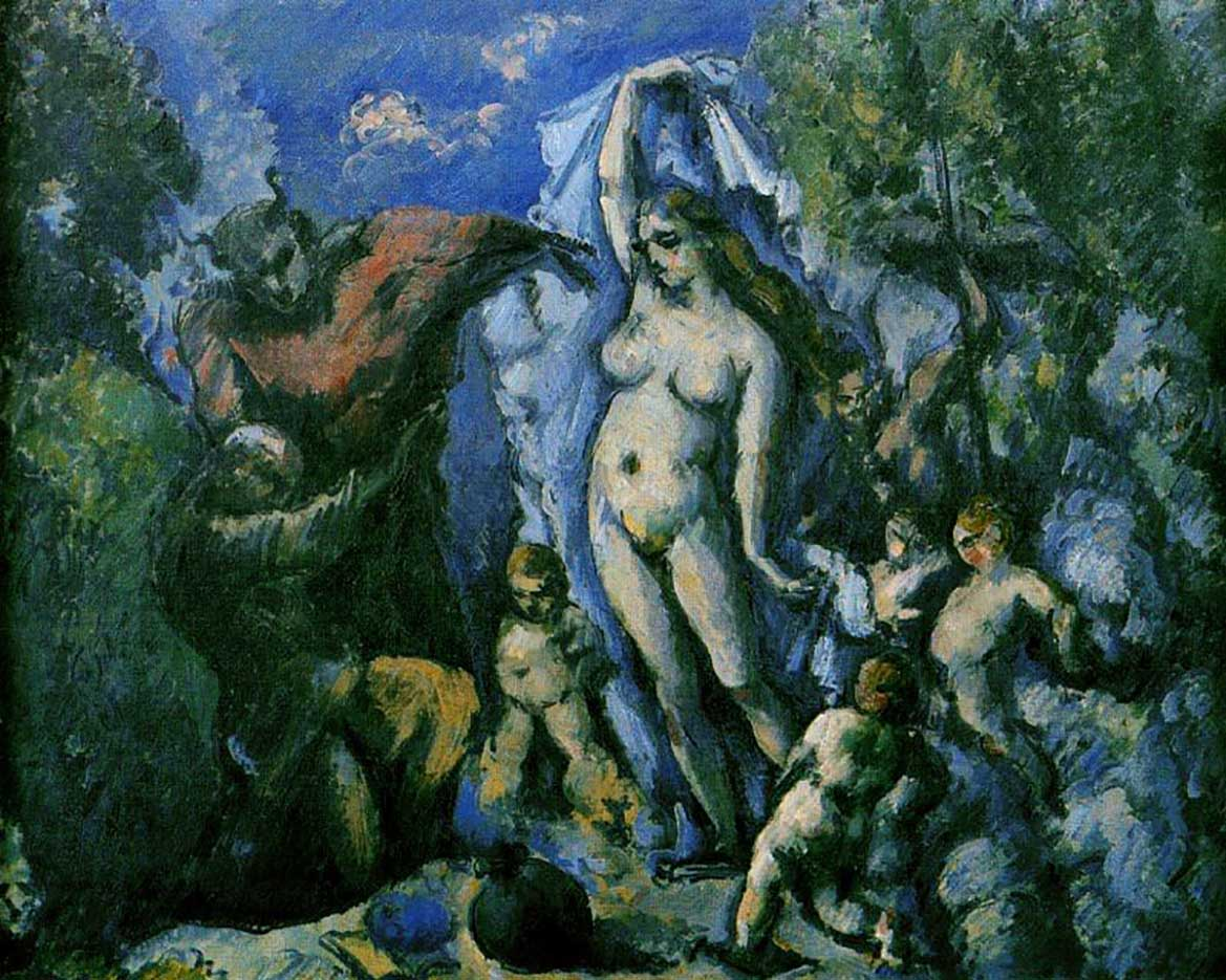 "Поль Сезанн (Paul Cezanne), ""The Temptation of St. Anthony"""