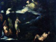 """Поль Сезанн (Paul Cezanne), """"Badende"""""""