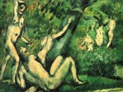 """Поль Сезанн (Paul Cezanne), """"Badende - 3"""""""