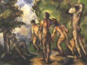 "Поль Сезанн (Paul Cezanne), ""Five bathers"""