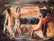 "Поль Сезанн (Paul Cezanne), ""Judgement of Paris"""