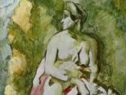 """Поль Сезанн (Paul Cezanne), """"Medea (nach Delacroix)"""""""