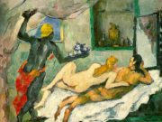 """Поль Сезанн (Paul Cezanne), """"Полдень в Неаполе (ромовый пунш)"""""""
