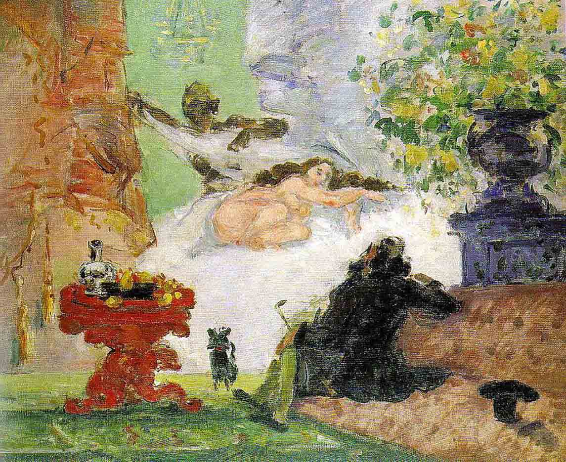 "Поль Сезанн (Paul Cezanne), ""A Modern Olympia"""