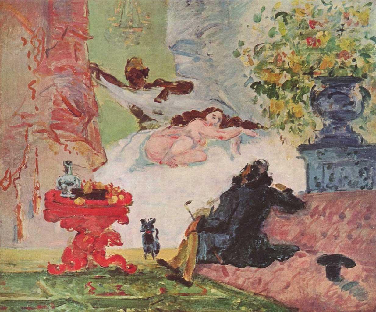 "Поль Сезанн (Paul Cezanne), ""Olympia"""