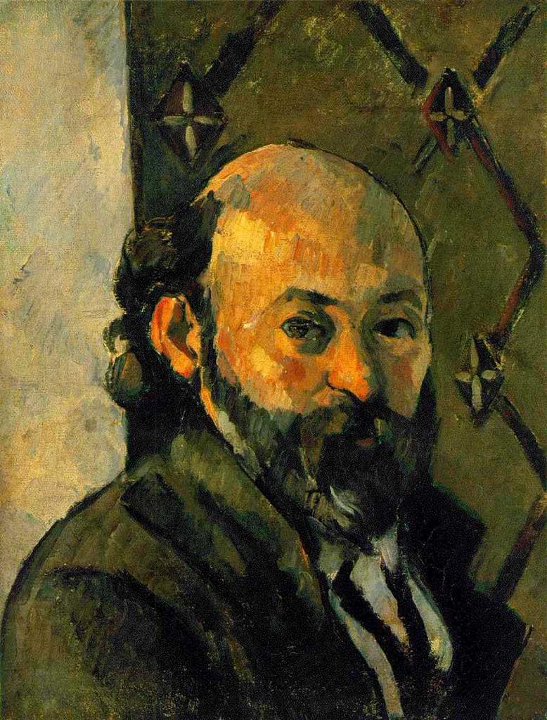 "Поль Сезанн (Paul Cezanne), ""Автопортрет"""