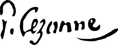 "Поль Сезанн (Paul Cezanne), ""Автограф"""