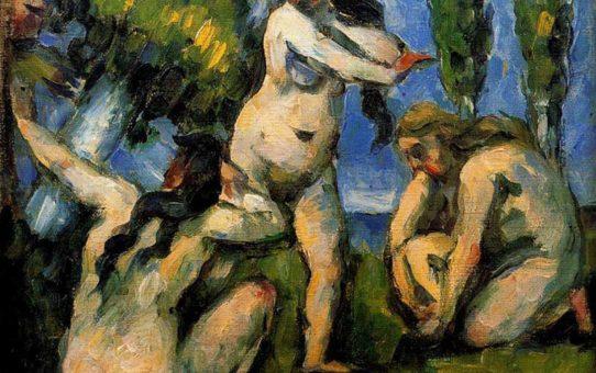 "Поль Сезанн (Paul Cezanne), ""Три купальщицы"""