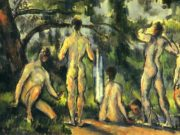 "Поль Сезанн (Paul Cezanne), ""Купальщики - 2"""