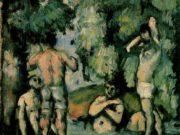 "Поль Сезанн (Paul Cezanne), ""Купальщики - 4"""
