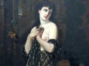 """Шарль Шаплен (Charles Chaplin) """"Nude Beauty With Putto"""""""