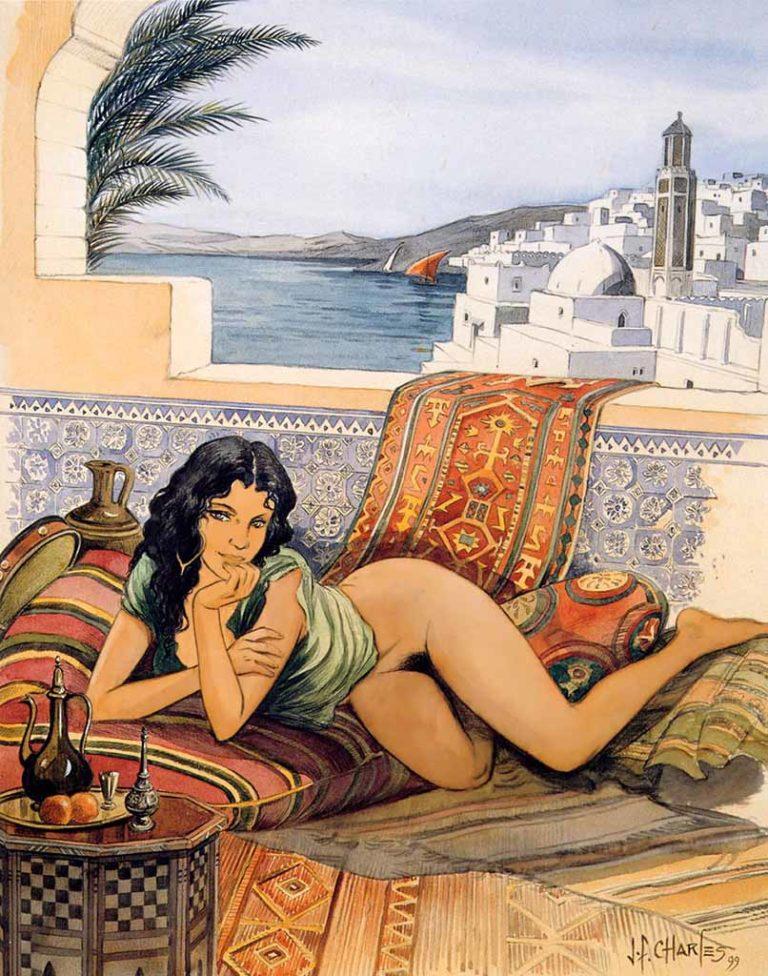 Ad art erotic in subliminal venture #9