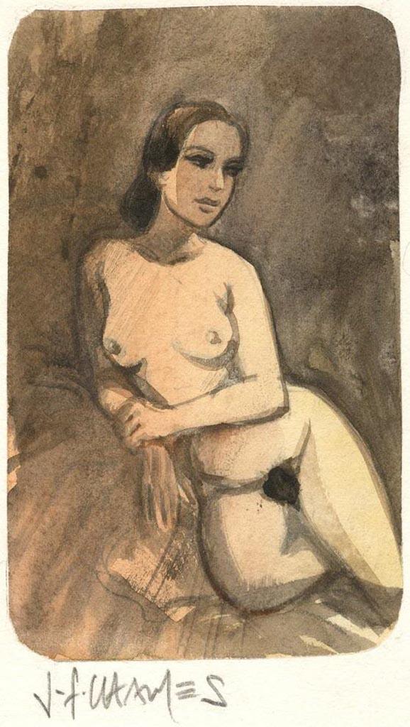 Жан-Франсуа Шарле (Дж. Ф. Чарльз) (Jean-Francois Charles), Erotic Picture — 38