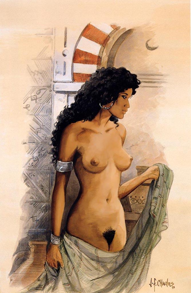 Жан-Франсуа Шарле (Дж. Ф. Чарльз) (Jean-Francois Charles), Erotic Picture — 41