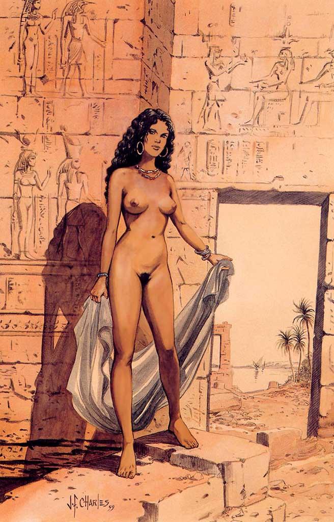 Жан-Франсуа Шарле (Дж. Ф. Чарльз) (Jean-Francois Charles), Erotic Picture — 42