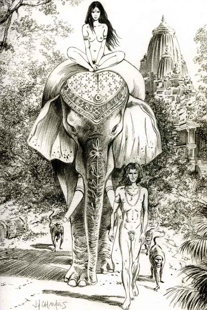 Жан-Франсуа Шарле (Дж. Ф. Чарльз) (Jean-Francois Charles), Erotic Picture — 43
