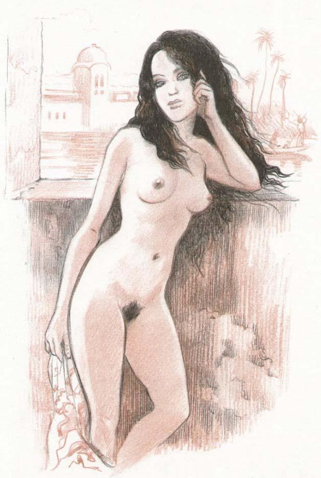 Жан-Франсуа Шарле (Дж. Ф. Чарльз) (Jean-Francois Charles), Erotic Picture — 44