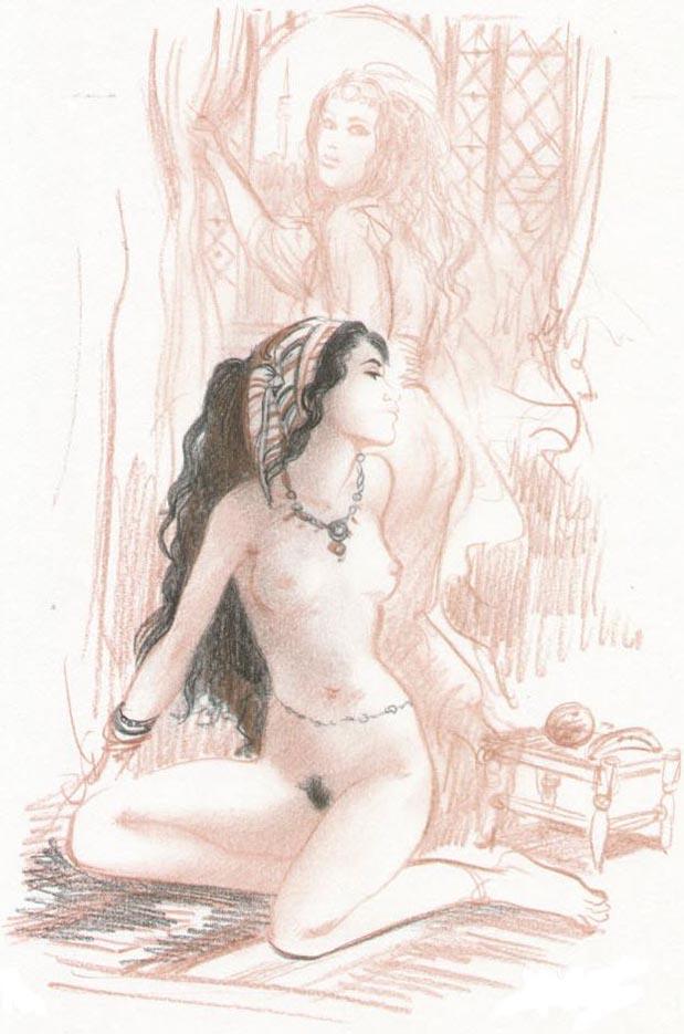 Жан-Франсуа Шарле (Дж. Ф. Чарльз) (Jean-Francois Charles), Erotic Picture — 45