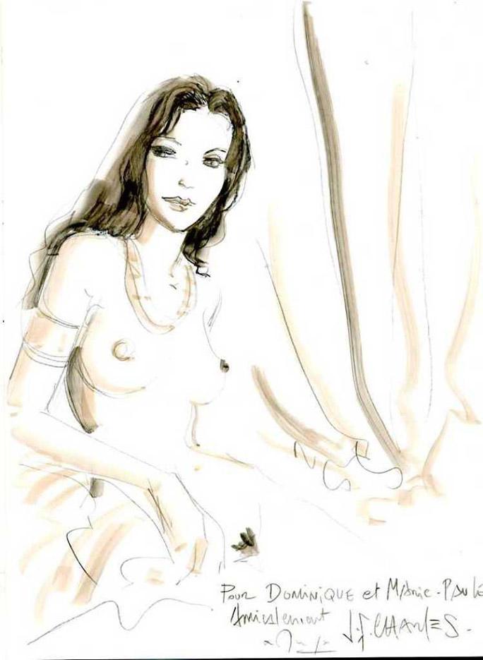 Жан-Франсуа Шарле (Дж. Ф. Чарльз) (Jean-Francois Charles), Erotic Picture — 47