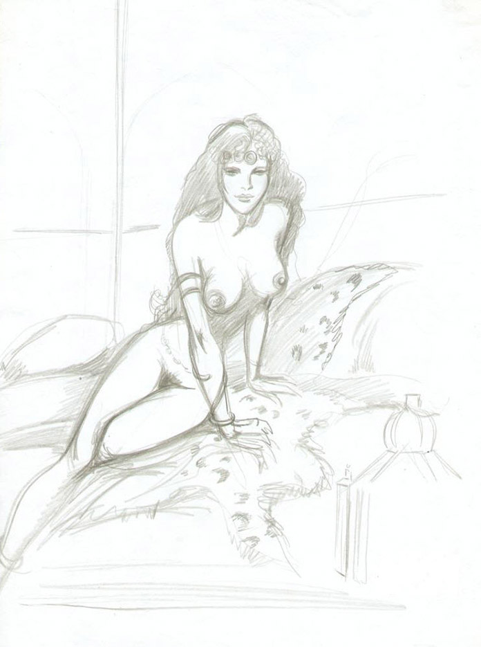 Жан-Франсуа Шарле (Дж. Ф. Чарльз) (Jean-Francois Charles), Erotic Picture — 48