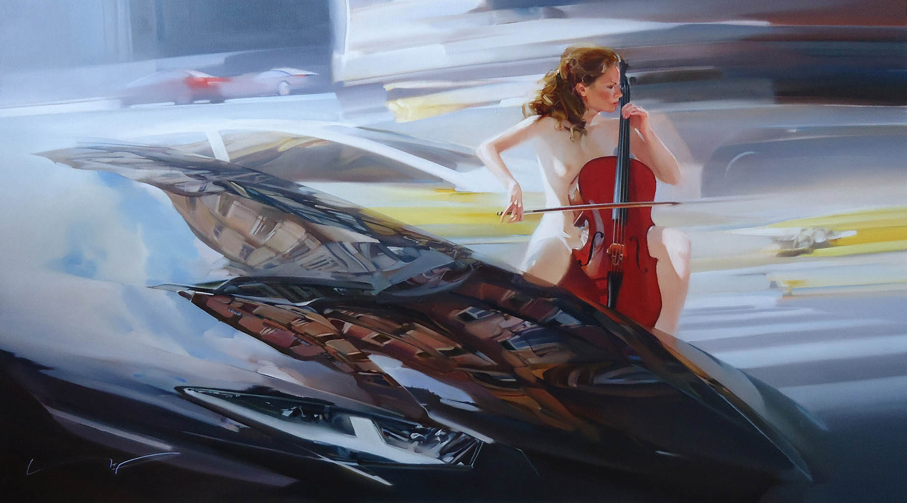 "Алексей Чернигин (Alex Chernigin) ""Music Of Spring Streets"""