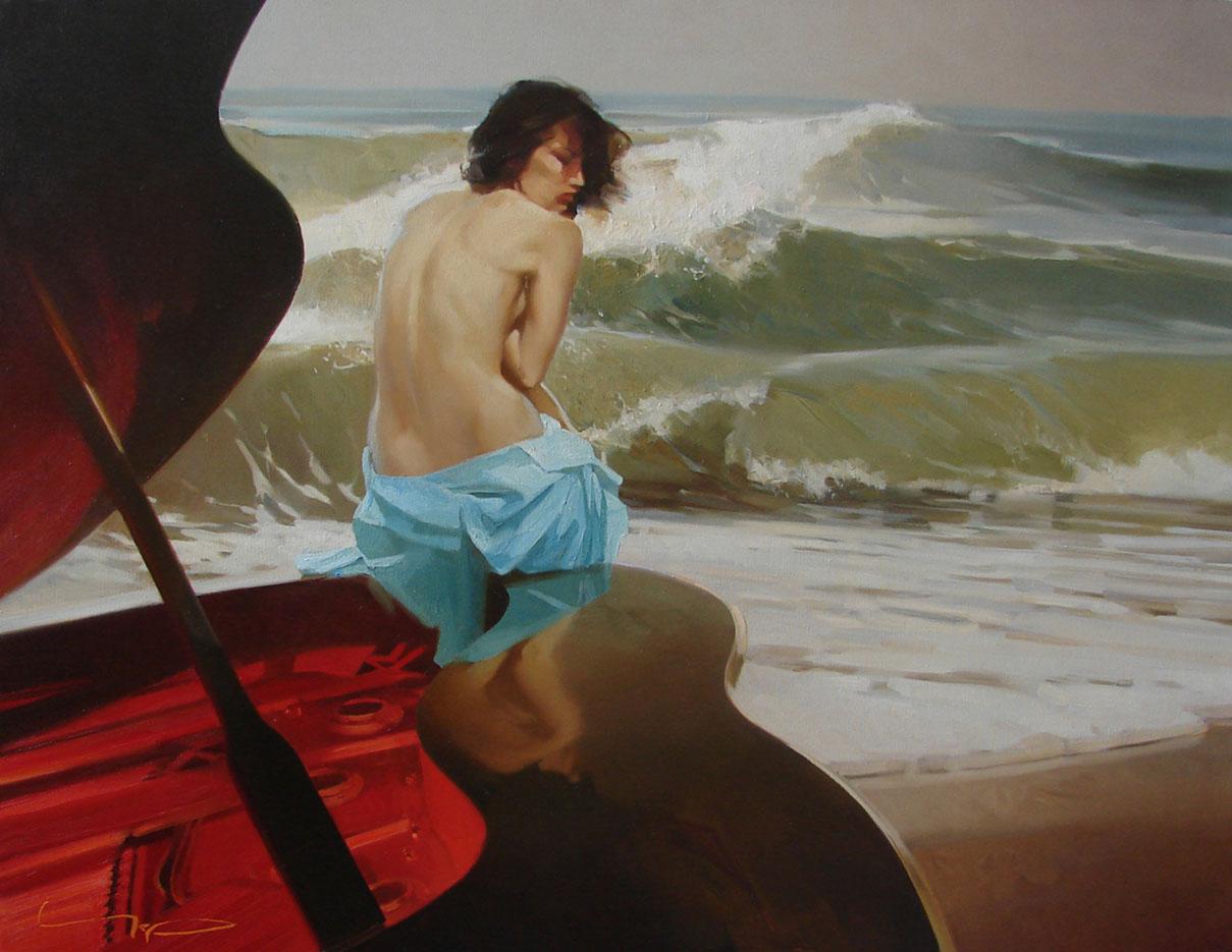 "Алексей Чернигин (Alex Chernigin) ""At High Tide Line"""