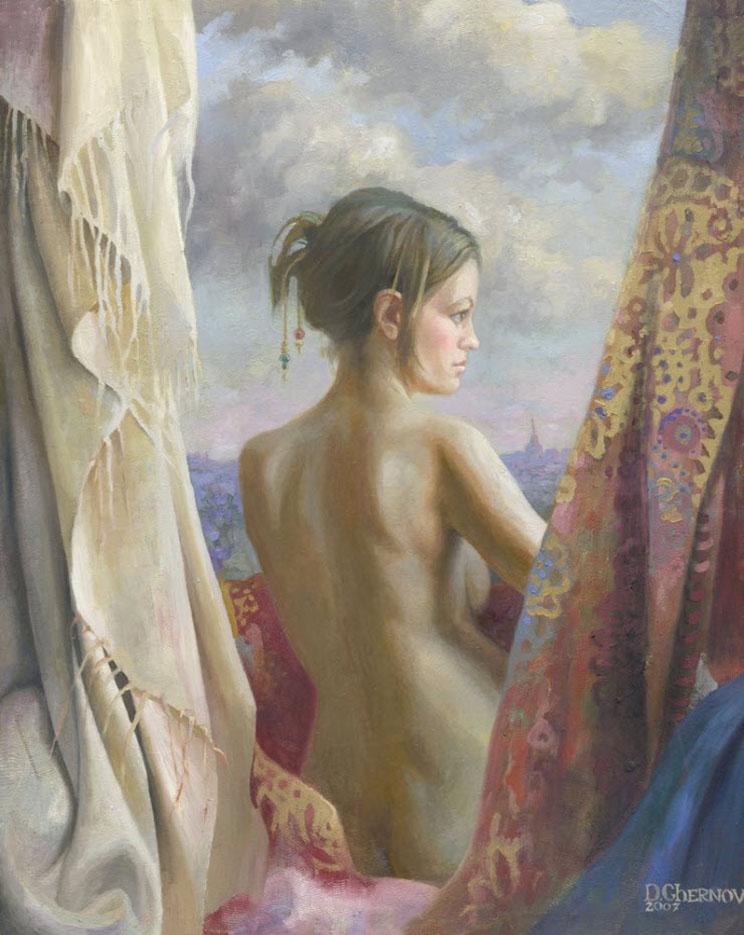 """Денис Чернов (Denis Chernov), """"На балконе"""""""
