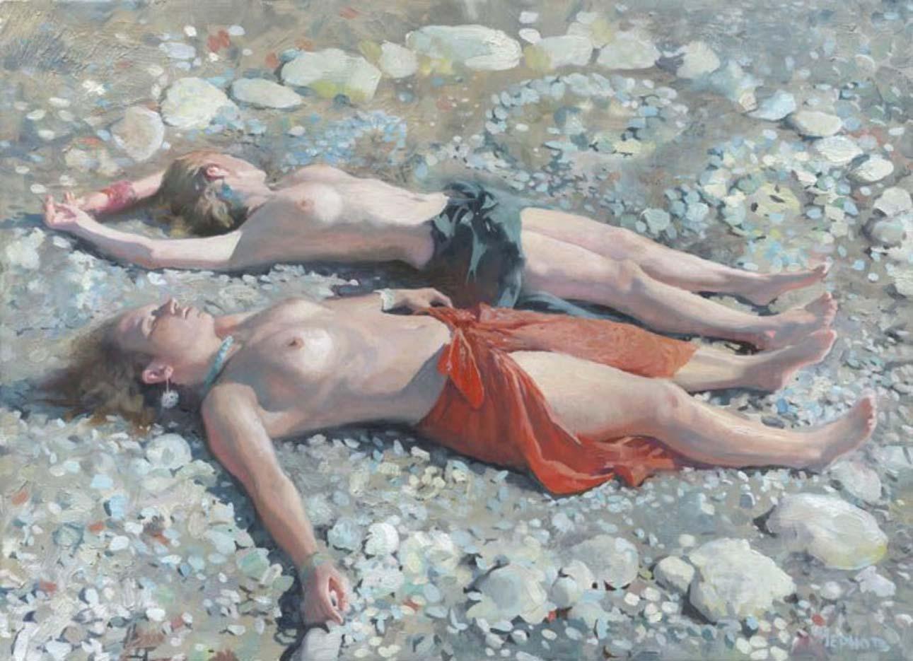 """Денис Чернов (Denis Chernov), """"На пляже"""""""
