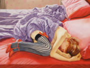 "Энтони Кристиан (Anthony Christian) ""Redhead in a Red Bed"""