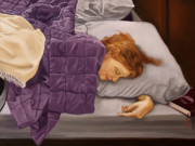 "Энтони Кристиан (Anthony Christian) ""Fanny Sleeping with Book"""