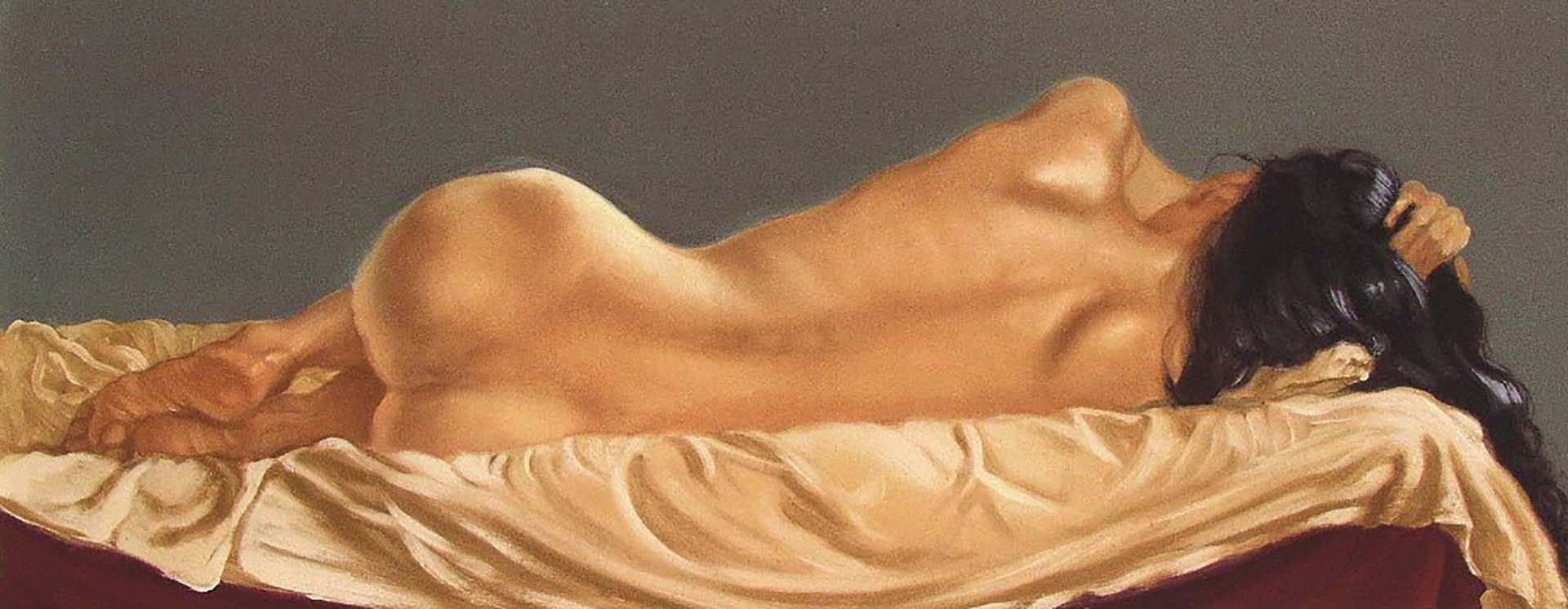 "Энтони Кристиан (Anthony Christian) ""Backview Lying Nude"""