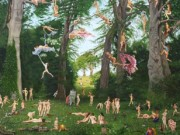 "Энтони Кристиан (Anthony Christian) ""The Artist's Thoughts Manifesting Whilst Painting The Trees At Parlington"""