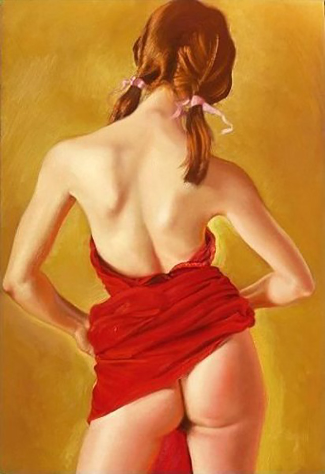 "Энтони Кристиан (Anthony Christian) ""Red Lady (2)"""