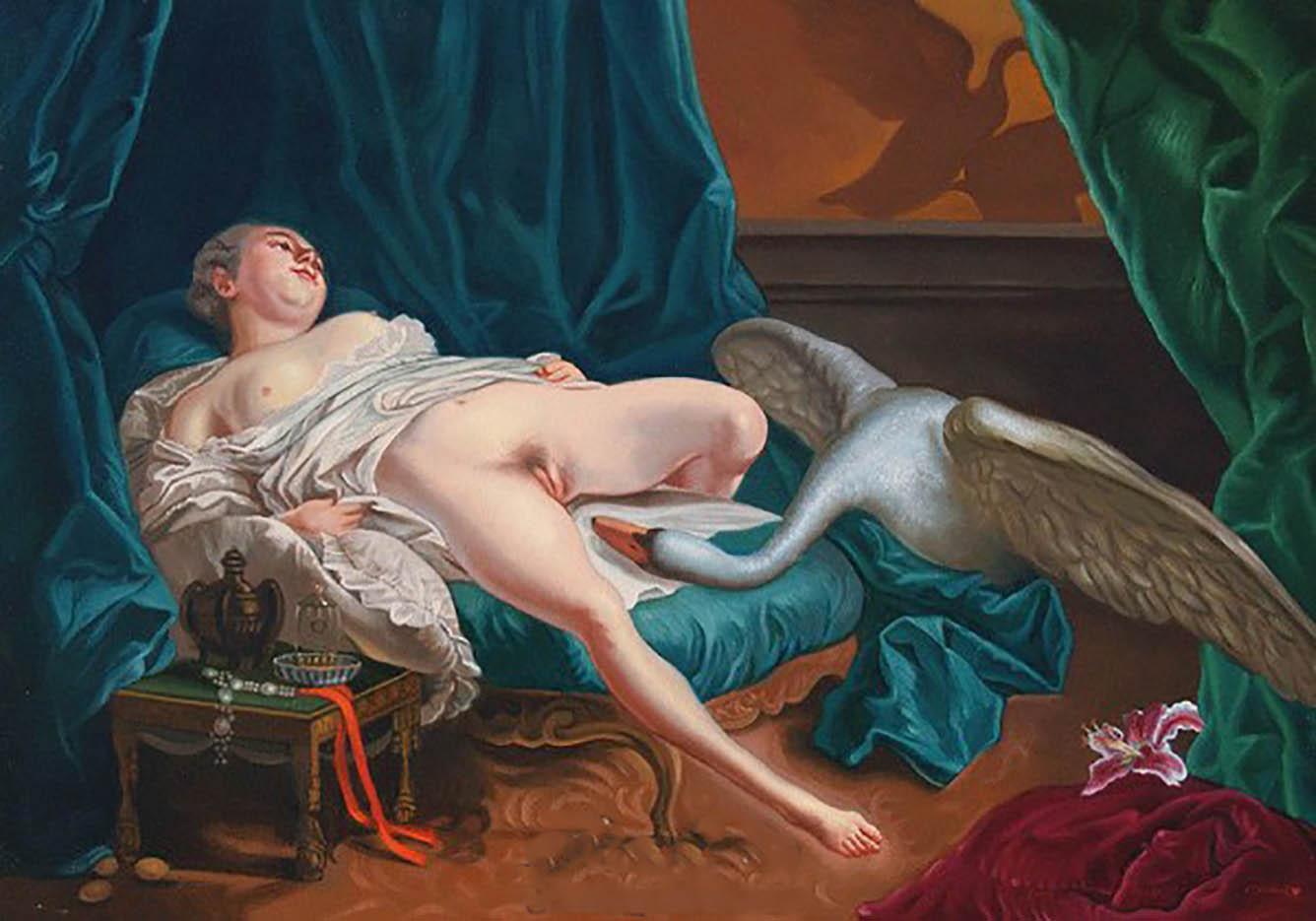 Teengirl darius erotic painter sexy