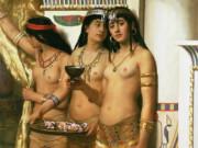 "Джон Кольер (John Collier), ""Служанки фараона"""