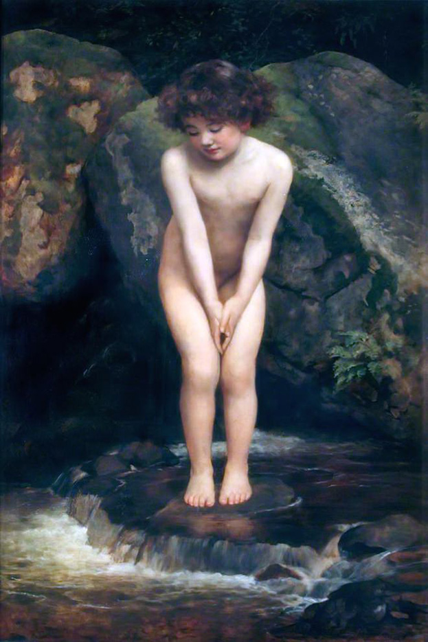 "Джон Кольер (John Collier), ""Дитя воды"""