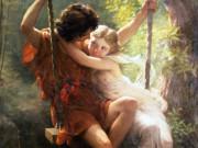 "Пьер Огюст Кот (Pierre Auguste Cot) ""Spring (Le Printemps)"""