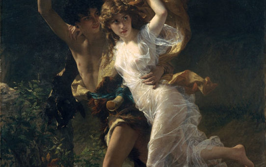 "Пьер Огюст Кот (Pierre Auguste Cot) ""The Storm (L'Orage)"""