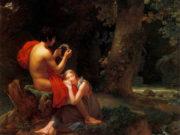 "Пьер Огюст Кот (Pierre Auguste Cot) ""Daphnis et Chlo"""