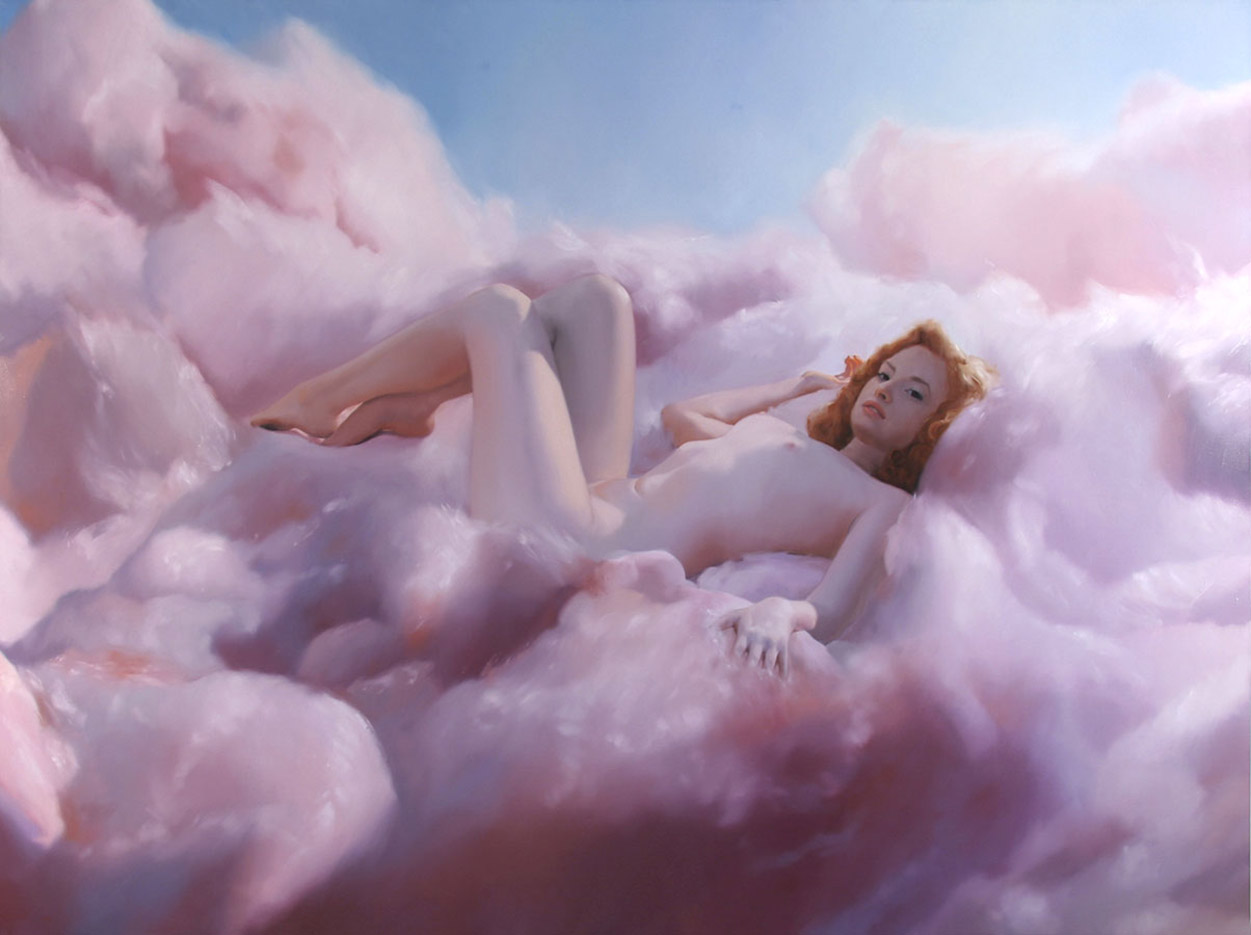 Уилл Коттон (Will Cotton), Candy Clouds (Mona)