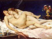 "Гюстав Курбе (Gustave Courbet), ""Спящие, Le Sommeil"""
