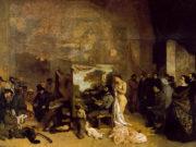 """Гюстав Курбе (Gustave Courbet), """"Мастерская художника. Реальная аллегория"""""""