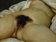 """Гюстав Курбе (Gustave Courbet), """"Происхождение мира, L'Origine du monde"""""""