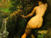 "Гюстав Курбе (Gustave Courbet), ""The Source"""