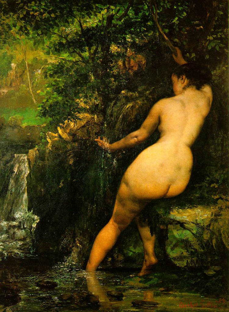 "Гюстав Курбе (Gustave Courbet), ""The Source"""